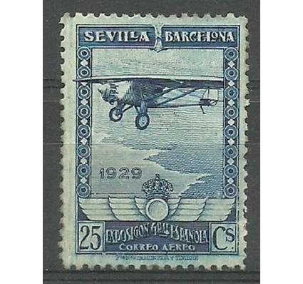 Znaczek Hiszpania 1929 Mi 424 Z podlepką *
