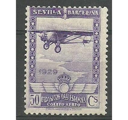 Znaczek Hiszpania 1929 Mi 425 Z podlepką *