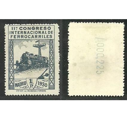 Znaczek Hiszpania 1930 Mi 454 Z podlepką *