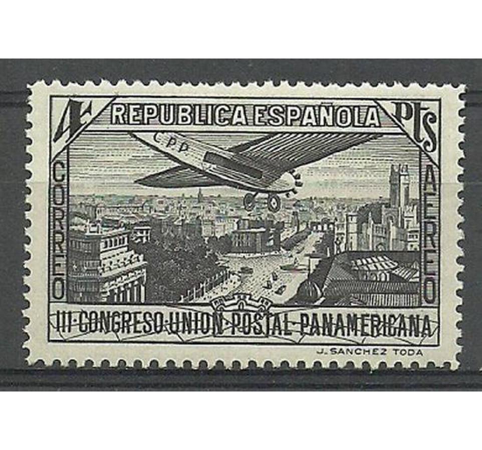 Hiszpania 1931 Mi 597 Z podlepką *