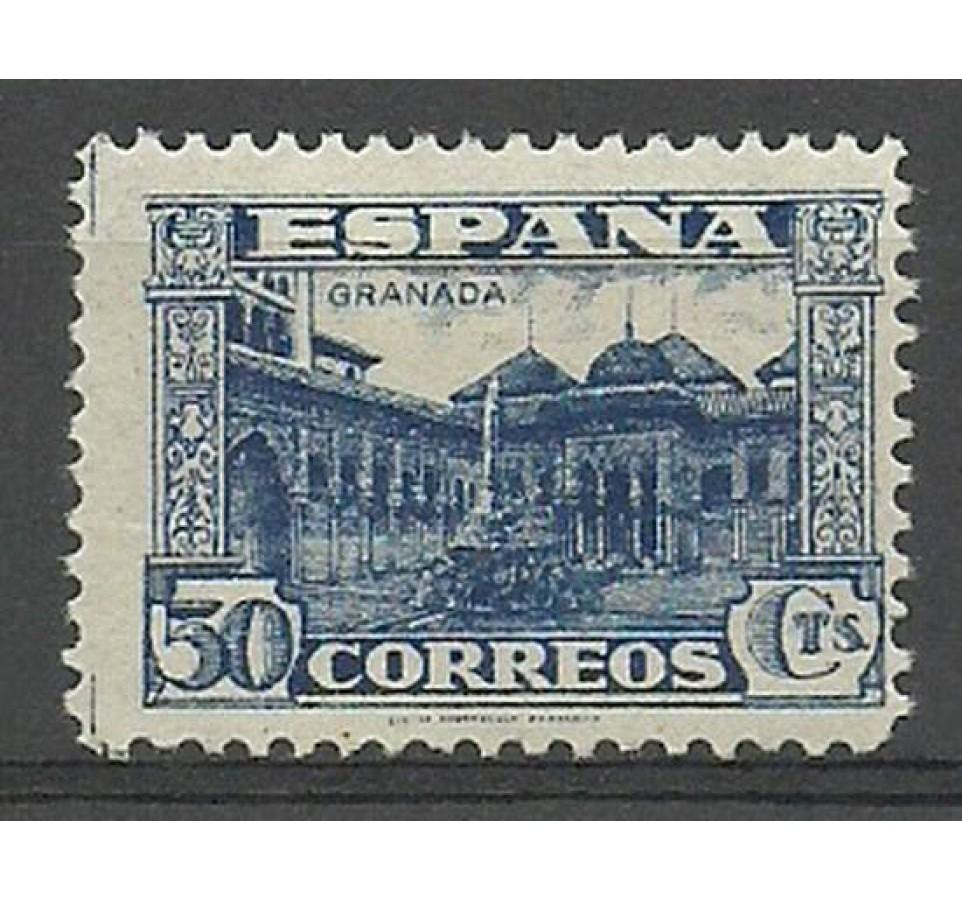 Hiszpania 1936 Mi 760 Z podlepką *