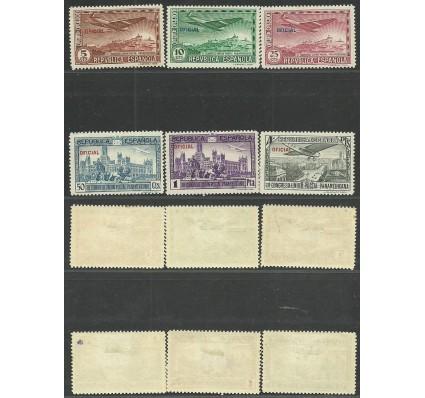 Znaczek Hiszpania 1931 Mi die 30-35a,b Z podlepką *