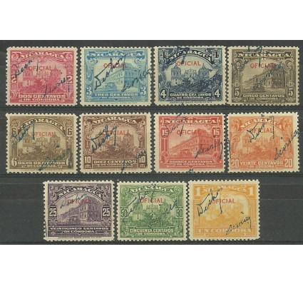 Znaczek Nikaragua 1933 Mi 641-651 Czyste **