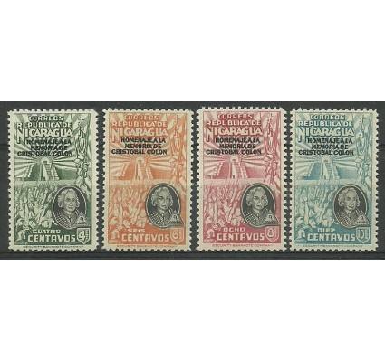 Znaczek Nikaragua 1945 Mi 928-931 Czyste **