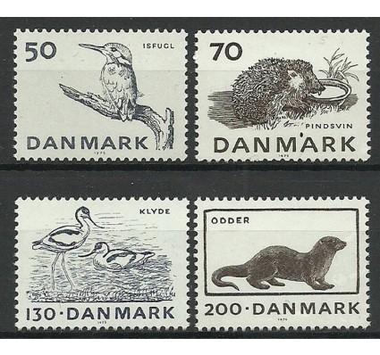 Znaczek Dania 1975 Mi 602-605 Czyste **