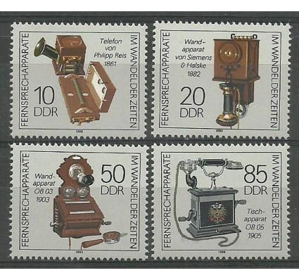 Znaczek NRD / DDR 1989 Mi 3226-3229 Czyste **