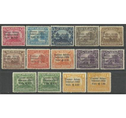 Znaczek Nikaragua 1932 Mi 579-589 Z podlepką *