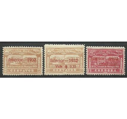 Znaczek Nikaragua 1932 Mi 573-575 Z podlepką *