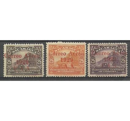 Znaczek Nikaragua 1929 Mi 483-485 Z podlepką *