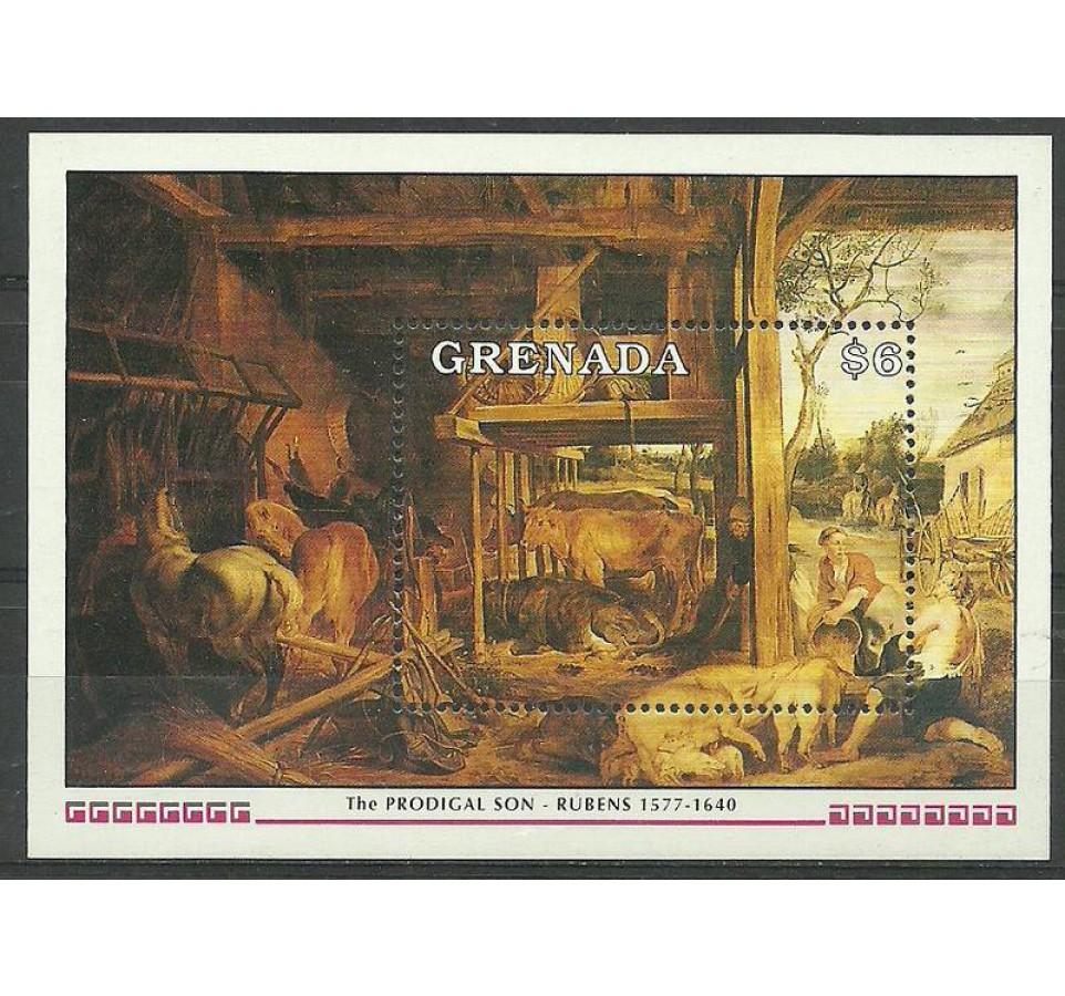 Grenada 1991 Mi bl 265 Czyste **