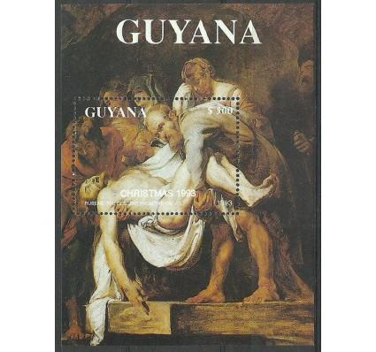 Znaczek Gujana 1993 Mi bl 328 Czyste **