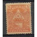 Nikaragua 1898 Mi 108y Z podlepką *