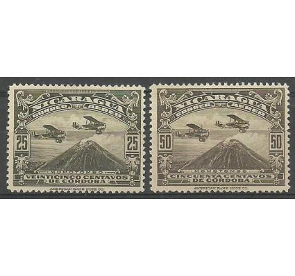 Nikaragua 1929 Mi 486-487 Z podlepką *