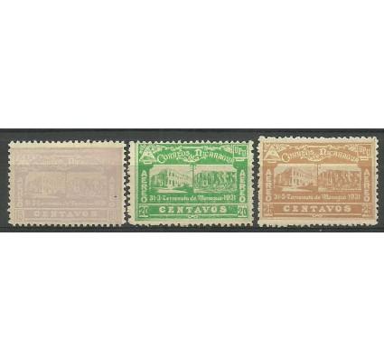 Znaczek Nikaragua 1932 Mi 551-553 Z podlepką *