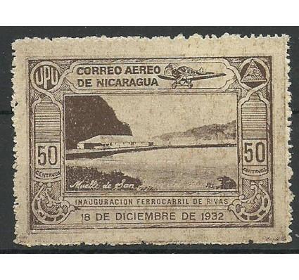 Znaczek Nikaragua 1932 Mi 598 Z podlepką *