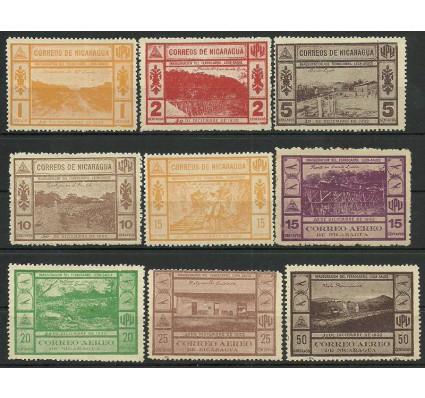 Znaczek Nikaragua 1932 Mi 600-609 Z podlepką *