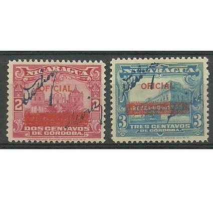 Nikaragua 1936 Mi 702-703 Z podlepką *