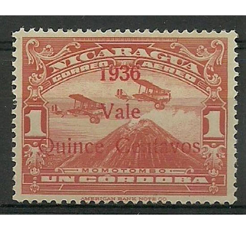 Nikaragua 1936 Mi 778 Z podlepką *