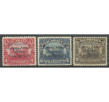 Nikaragua 1937 Mi 805+907-908 Z podlepką *