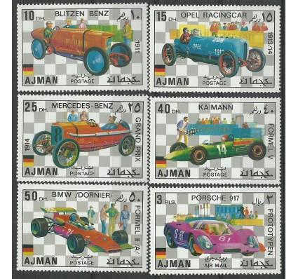 Znaczek Ajman / Adżman 1971 Mi 1117-1122 Czyste **