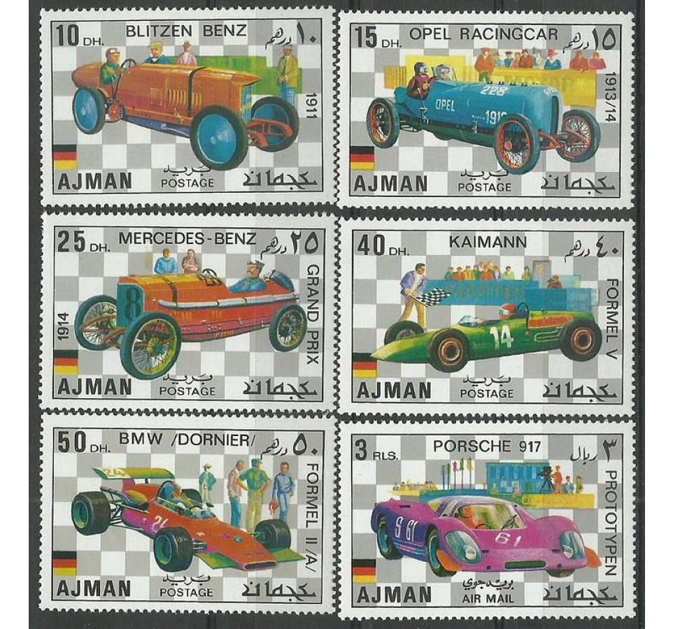 Ajman / Adżman 1971 Mi 1117-1122 Czyste **