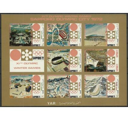 Znaczek Jemen Północny 1970 Mi ark 1258-1264 Czyste **