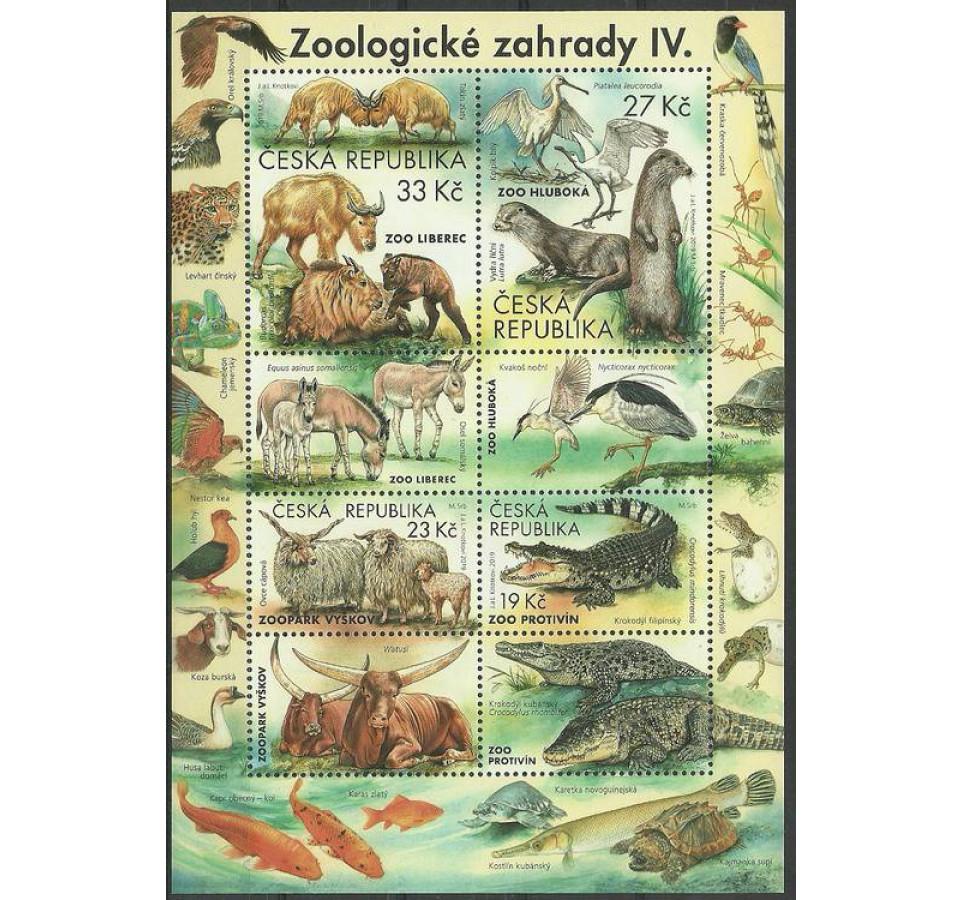 Czechy 2019 Mi ark 1038-1041 Czyste **