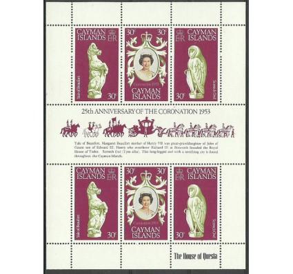 Znaczek Kajmany 1978 Mi ark 409-411 Czyste **
