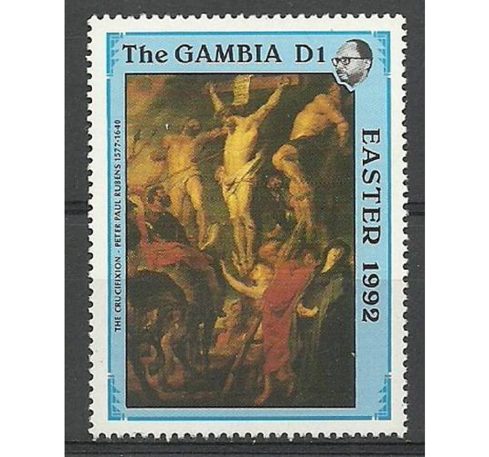 Gambia 1992 Mi 1342 Czyste **