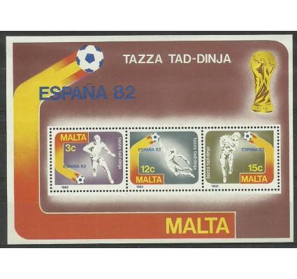 Znaczek Malta 1982 Mi bl 7 Czyste **
