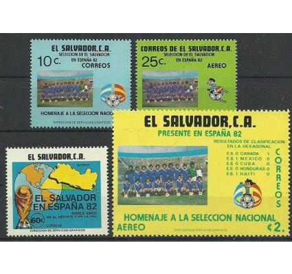 Znaczek Salwador 1982 Mi 1386-1389 Czyste **