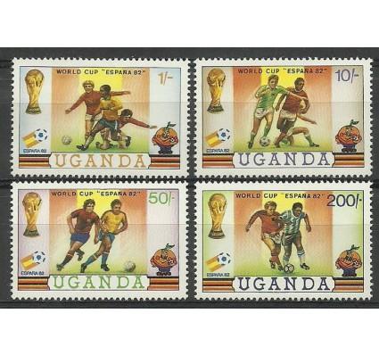 Znaczek Uganda 1981 Mi 310-313 Czyste **