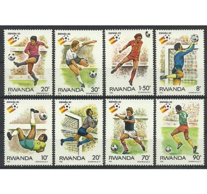 Znaczek Rwanda 1982 Mi 1179-1186 Czyste **