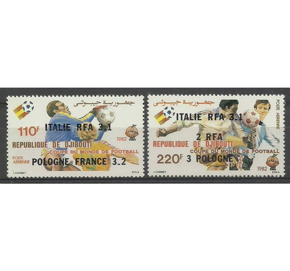 Dżibuti 1982 Mi 344-345 Czyste **