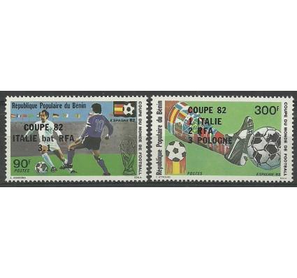 Benin 1982 Mi 286-287 Czyste **