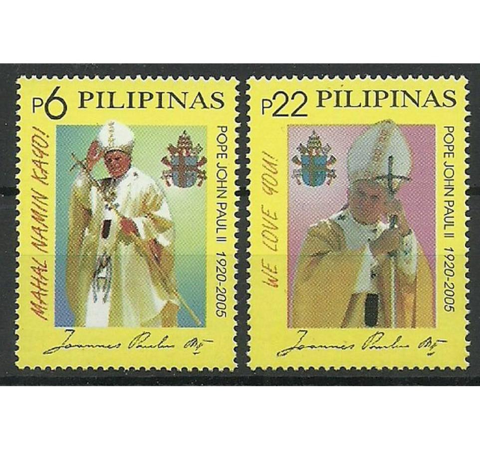 Filipiny 2005 Mi 3650-3651 Czyste **