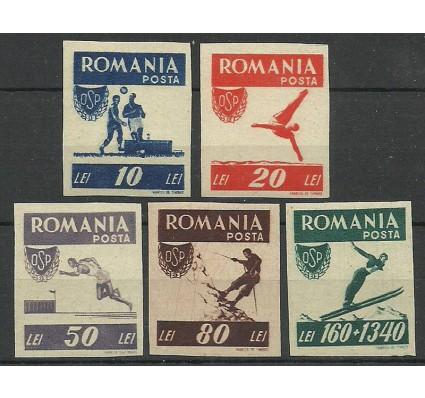 Znaczek Rumunia 1946 Mi 1000-1004B Czyste **