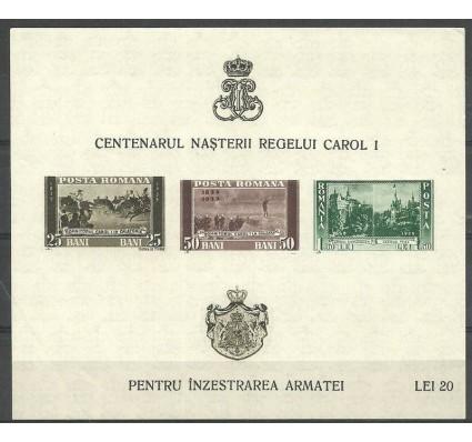 Znaczek Rumunia 1939 Mi bl 3 Czyste **