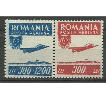 Znaczek Rumunia 1946 Mi 1005-1006 Czyste **