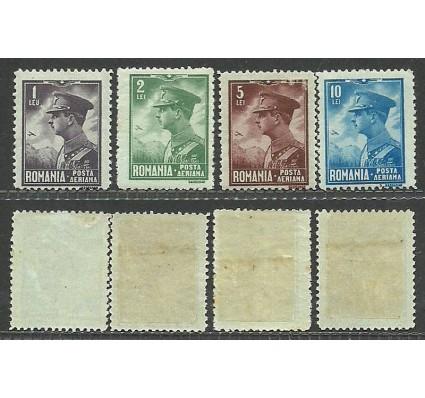 Znaczek Rumunia 1930 Mi 389-392 Z podlepką *
