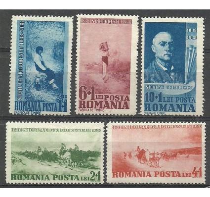 Znaczek Rumunia 1938 Mi 564-568 Z podlepką *