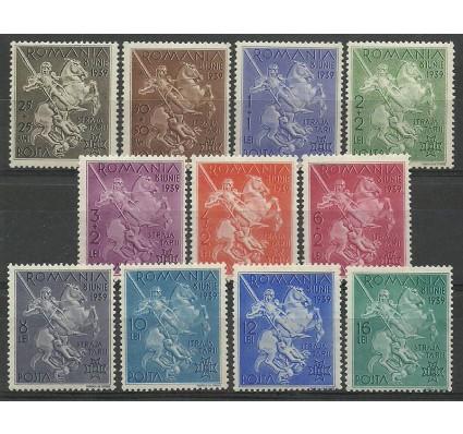 Znaczek Rumunia 1939 Mi 598-608 Z podlepką *