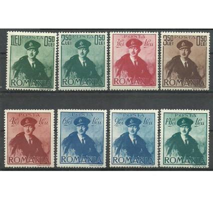 Znaczek Rumunia 1940 Mi 617-624 Z podlepką *