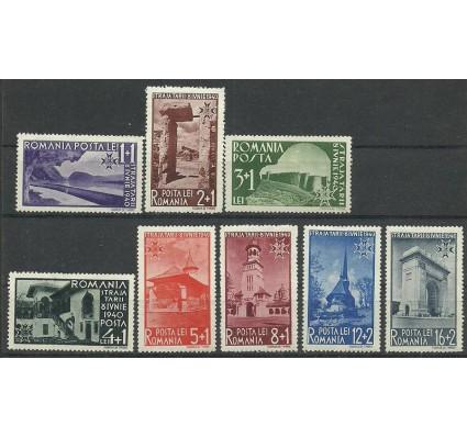 Znaczek Rumunia 1940 Mi 631-638 Z podlepką *