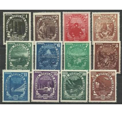 Znaczek Rumunia 1951 Mi 1276-1287 Z podlepką *