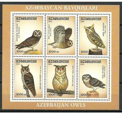 Znaczek Azerbejdżan 2001 Mi bl 48 Czyste **