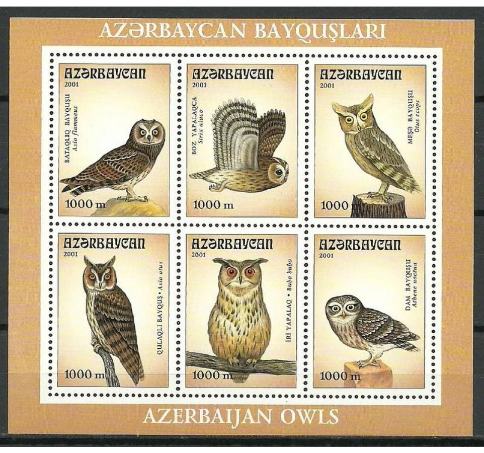 Azerbejdżan 2001 Mi bl 48 Czyste **