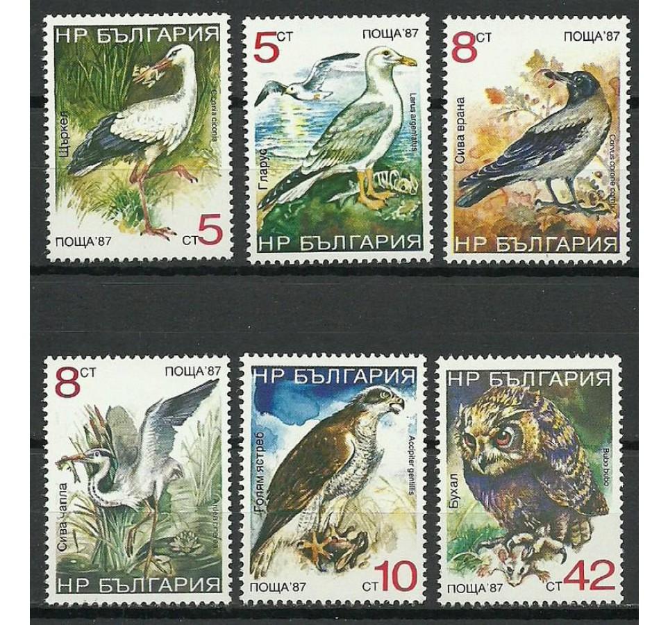 Bułgaria 1987 Mi 3689-3694 Czyste **
