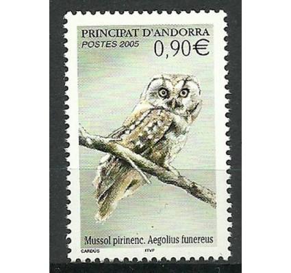 Znaczek Andora Francuska 2005 Mi 628 Czyste **