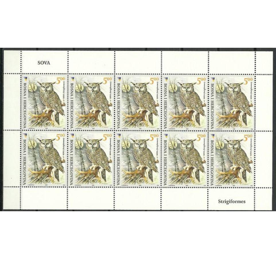 Bośnia i Hercegowina 2008 Mi ark 539 Czyste **